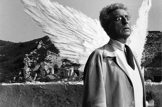 Clergue - Jean Cocteau and the Sphinx.jp
