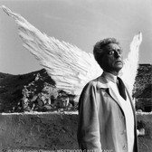 Lucien Clergue [1934-2014]  Jean Cocteau as The Poet and the Sphinx, Testament of Orpheus, Les Baux de Provence photo 1959 [printed later]  gelatin silver print, edition of 30 PF, signed  paper size > 16 x 12 inches