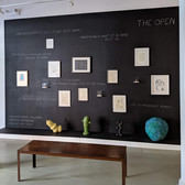 View of The Open, 2019 Joint installation of drawings, sculptures, works on paper, and writings by Miriam Bloom & Ron Morosan