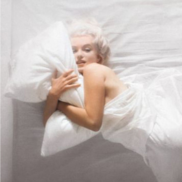 Douglas Kirkland  Marilyn Monroe  photograph 1961 [printed later]  archival pigment print on watercolor paper, edition of 25, signed and numbered paper size > 30 x 40 inches