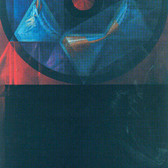 Komar and Melamid  Symbols of the Big Bang, 2002  tempera and oil on canvas,  96 x 48 inches