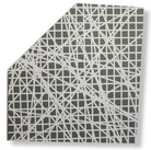 Will Insley (1929-2011) Wall Fragment No. 98.1, 1998 acrylic on masonite, 25.5 x 25.5 inches
