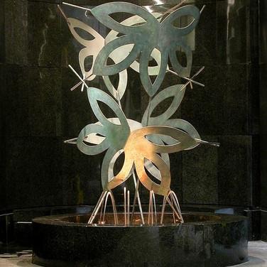 Spirits' Flight, The Hillman Cancer Center Fountain