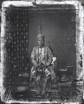 John Thomson (1837-1931)  King Mongkut of Siam  1865 [printed later]  gelatin silver print from the glass negative, edition of 350, stamped  16 x 20 inches