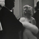 Roy Schatt [1909-2002]  Marilyn Monroe and Arthur Miller at a reception  photo circa 1956 [printed later]  gelatin silver print, signed, stamped  size > 14 x 10.75  © Estate of Roy Schatt