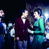 Douglas Kirkland  Martin Scorsese, Liza Minnelli and Robert DeNiro on the set of 'New York, New York', Hollywood  photo 1978 [printed later]  archival pigment print on watercolor paper, edition of 24, signed, numbered  paper size > 24 x 30 inches