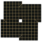Will Insley (1929-2011)  Wall Fragment No. 63.6 Night Wall, 1963-64 acrylic on masonite, 104 x 104 inches