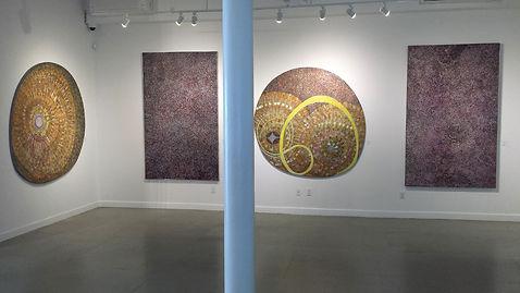 Westwood Gallery Interior Exhibition James Juthstrom