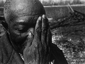 EUGENE RICHARDS  A Death of His Mule, W. Memphis  1972  gelatin silver print  8 x 12 inches