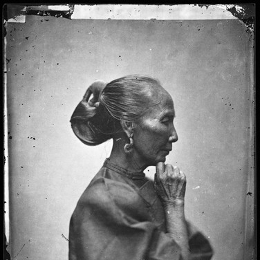 John Thomson (1837-1931)  Old Woman, Canton  photograph 1868-1870 [printed later]  gelatin silver print from the glass negative, edition of 350, stamped  16 x 20 inches