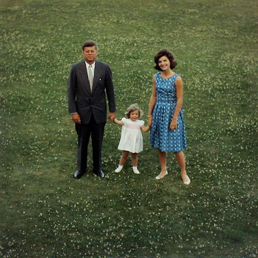 Jaques Lowe (1930-2001) The Kennedys, Hyannis Port, MA photo summer 1960 [printed later] C-print, signed paper size > 20 x 16 inches