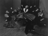 BARBARA MORGAN  Doris Humphrey – Shakers  1938  vintage gelatin silver print  16 x 20 inches