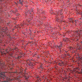 James Juthstrom [1925-2007] Untitled [Purple Lines], circa 1960s mixed media on artist paper, 27.75 x 21.5 inches