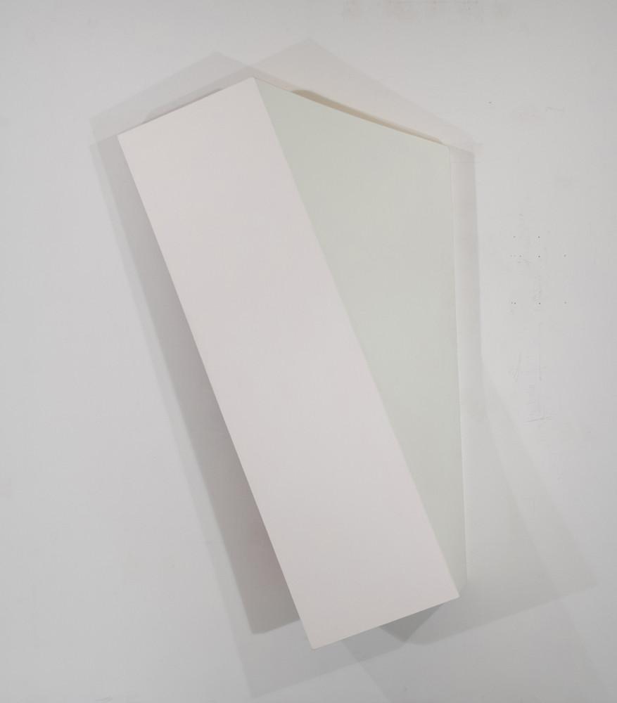 CHARLES HINMAN Leaning Twist, 2010 acrylic on shaped canvas Artwork: 84 x 54 x 14 inches | 213.4 x 137.2 x 35.6 cm