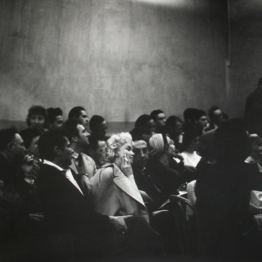 Roy Schatt [1909-2002]  Marilyn Monroe at The Actors Studio  photo 1956 [printed later]  gelatin silver print, signed  paper size > 16 x 20 inches  © Estate of Roy Schatt