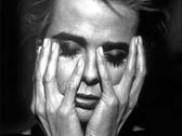 KLAUS LAUBMAYER  Holding Face (Margaux Hemingway)  1991  gelatin silver print  24 x 20 inches