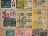 Boris Lurie (1924-2008)  NO Posters Mounted, 1963  offset printing on wastepaper mounted on canvas  87 x 68 inches
