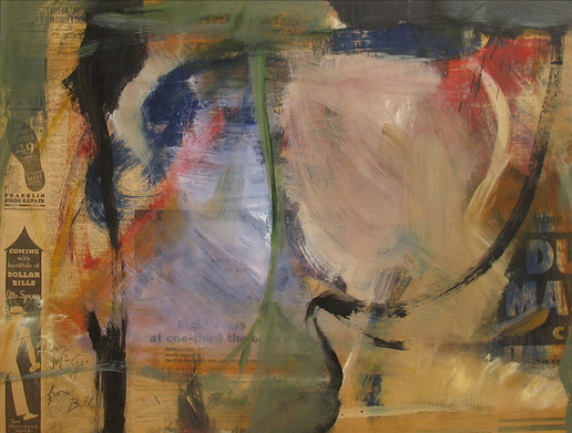 Willem de Kooning Untitled Painting