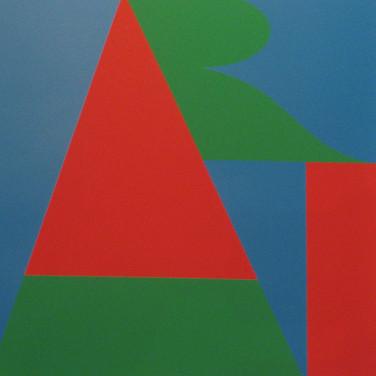 ROBERT INDIANA  On the Bowery, 1971  silkscreen on Schollers Parole Paper XIV/XX [edition of 100 + 20 A.P.]  25.5 x 25.5 inches, signed, numbered