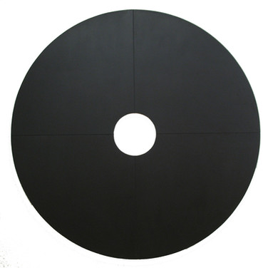 Will Insley (1929-2011)  Wall Ring, 1967  acrylic on masonite, 96 inches diameter