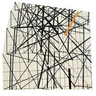 Will Insley (1929-2011) Wall Fragment No. 93.11, 1993 acrylic on masonite, 80 x 80 inches
