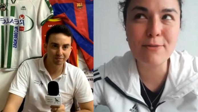 Natasha Lee estrena el nuevo sistema de entrevistas de Mundo Hockey