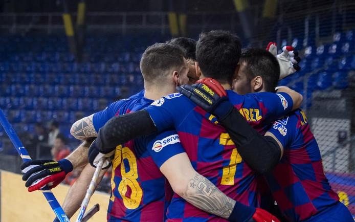 El Barça golea al Sarzana y se mantiene líder de grupo