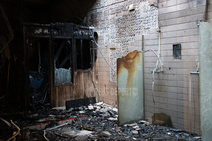 Controlado el incendio en las instalaciones del Reus Deportiu