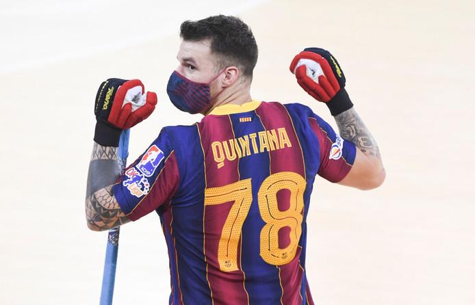 El hockey homenajea a Alfredo Quintana