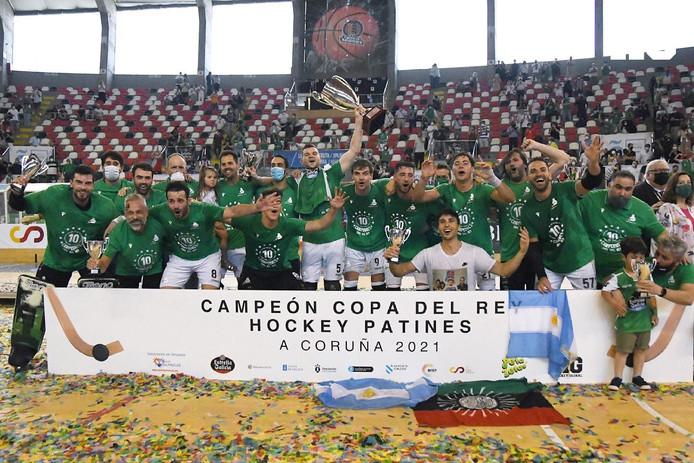 El Liceo conquista la Copa del Rey en casa