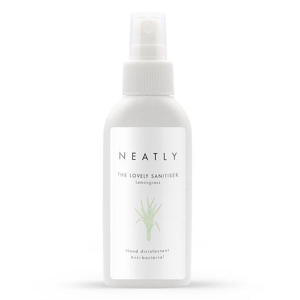 Lemongrass hand sanitiser spray