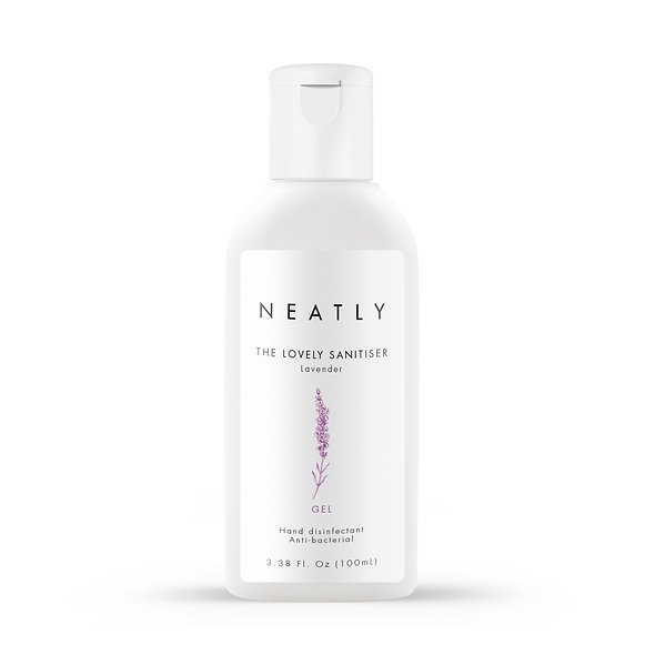 Lavender hand sanitiser gel