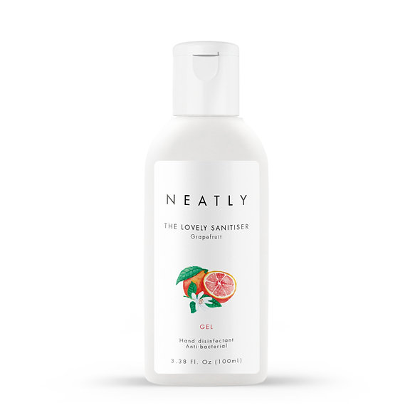 Grapefruit hand sanitiser gel