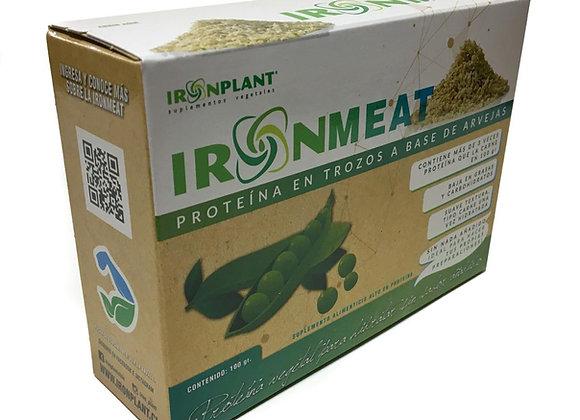 """Iron Meat """"proteína en trozos a base de arvejas"""""""