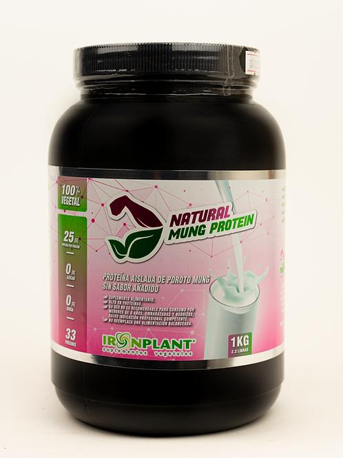 Proteína de Poroto Mung Natural (sin sabor) 1 Kilo