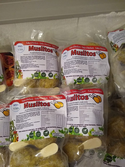 Muslitos de No Pollo (vegano)