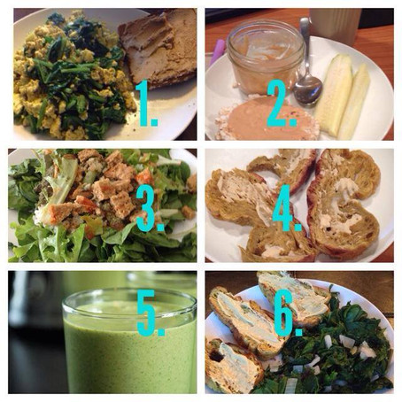 6 comidas apropiadas para el Fitness sin carne