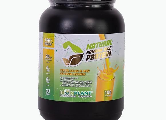 Proteína de Arroz con Banana Liofilizada 1 kilo