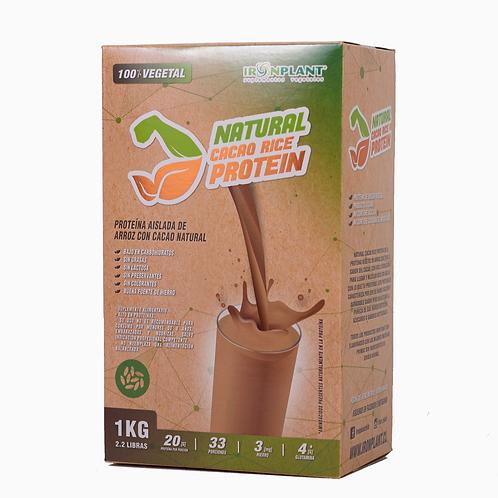 Proteína de Arroz Cacao 2 kilos Caja