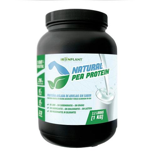 Proteína de Arveja sin sabor Iron Plant