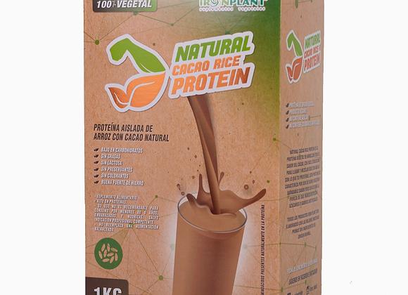 Proteína de Arroz Cacao 3 kilos caja