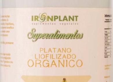 Plátano orgánico en polvo 200 grs