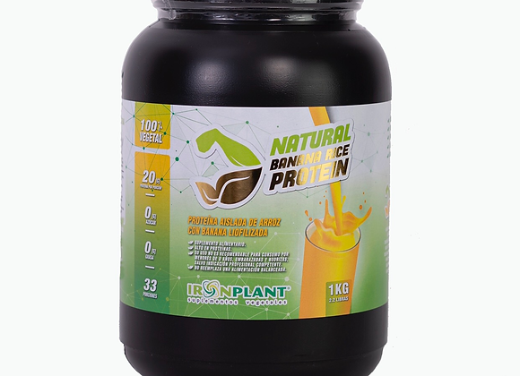 Proteína de Arroz con Banana Liofilizada 4 kilos