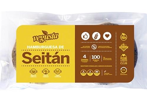 Hamburguesa de Seitan, 4 unidades