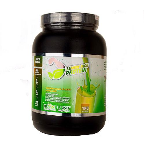 Proteína de Arroz Limón 4 Kilos