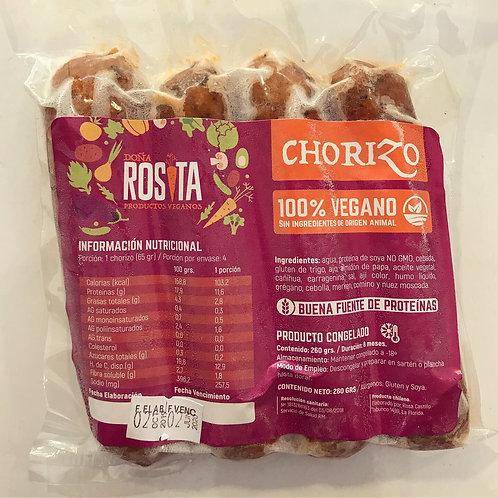 Chorizo Vegano Doña Rosita