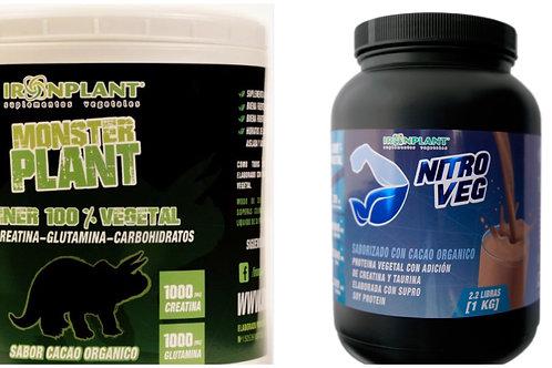 Pack Pro: Monster Plant 4 kg + 1 kg Nitroveg