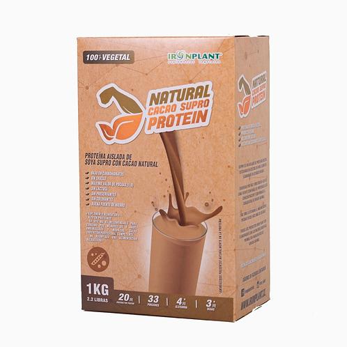 Proteína SUPRO Cacao  1 Kg Caja