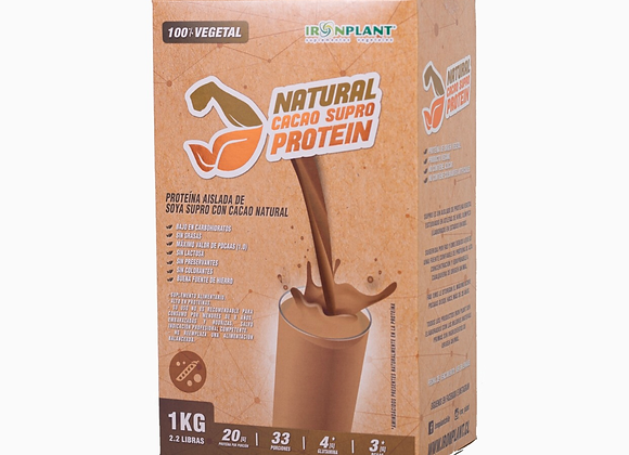 Proteína SUPRO Cacao  1 Kg Caja