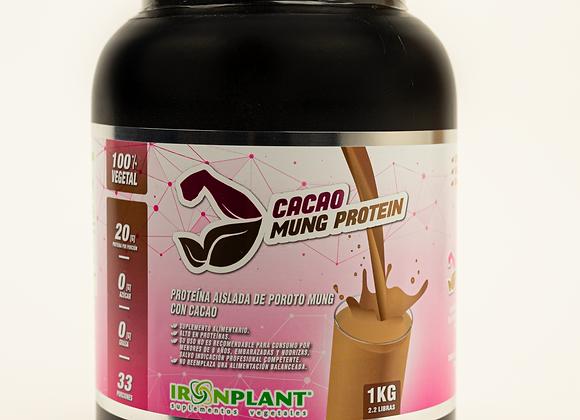 Proteína de Poroto Mung con Cacao 2 Kilos